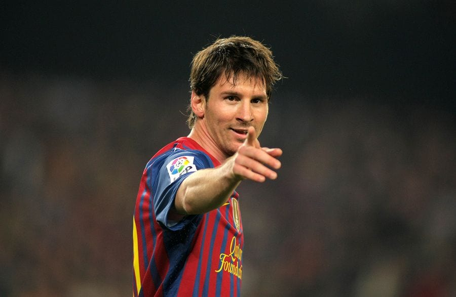 There's no confusing Messi